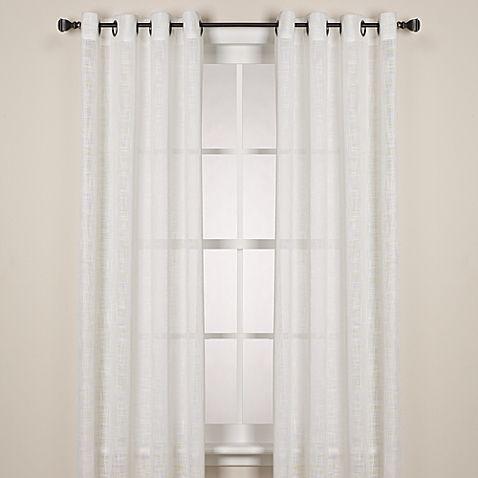 Alton Solid Grommet Window Curtain Panels Panel Curtains Living
