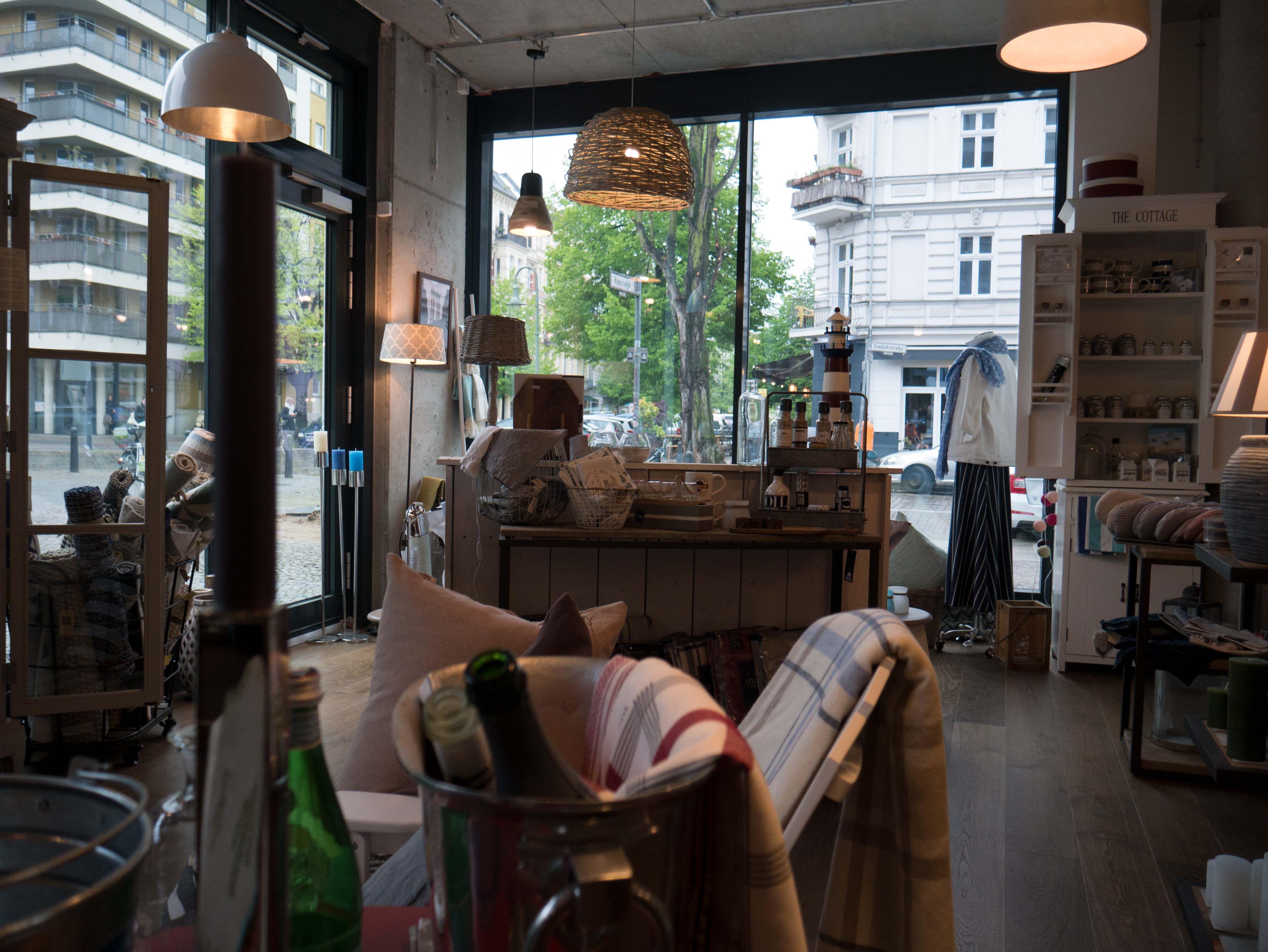 Raumgestaltung Berlin einzelhandel geschäft für lifestyle und interior dekoration in