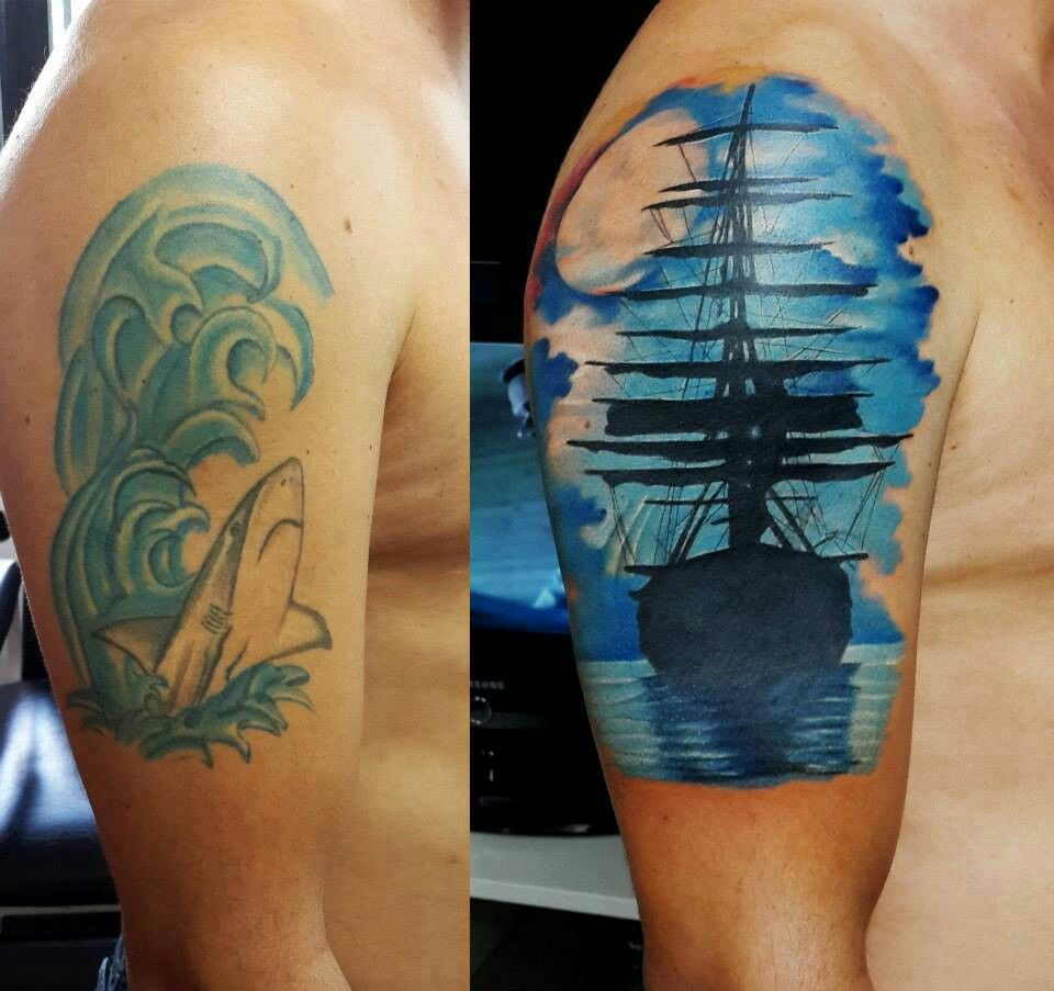 Tattoo cover up - As if....you EVER can