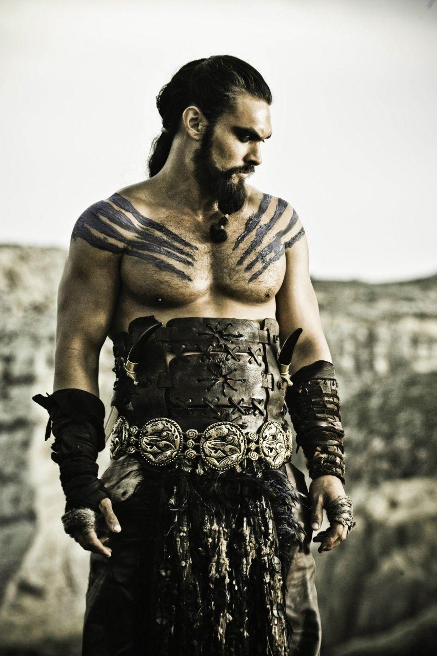 Jason Mamo as Khal Drogo, Game of Throns.....my new fav show