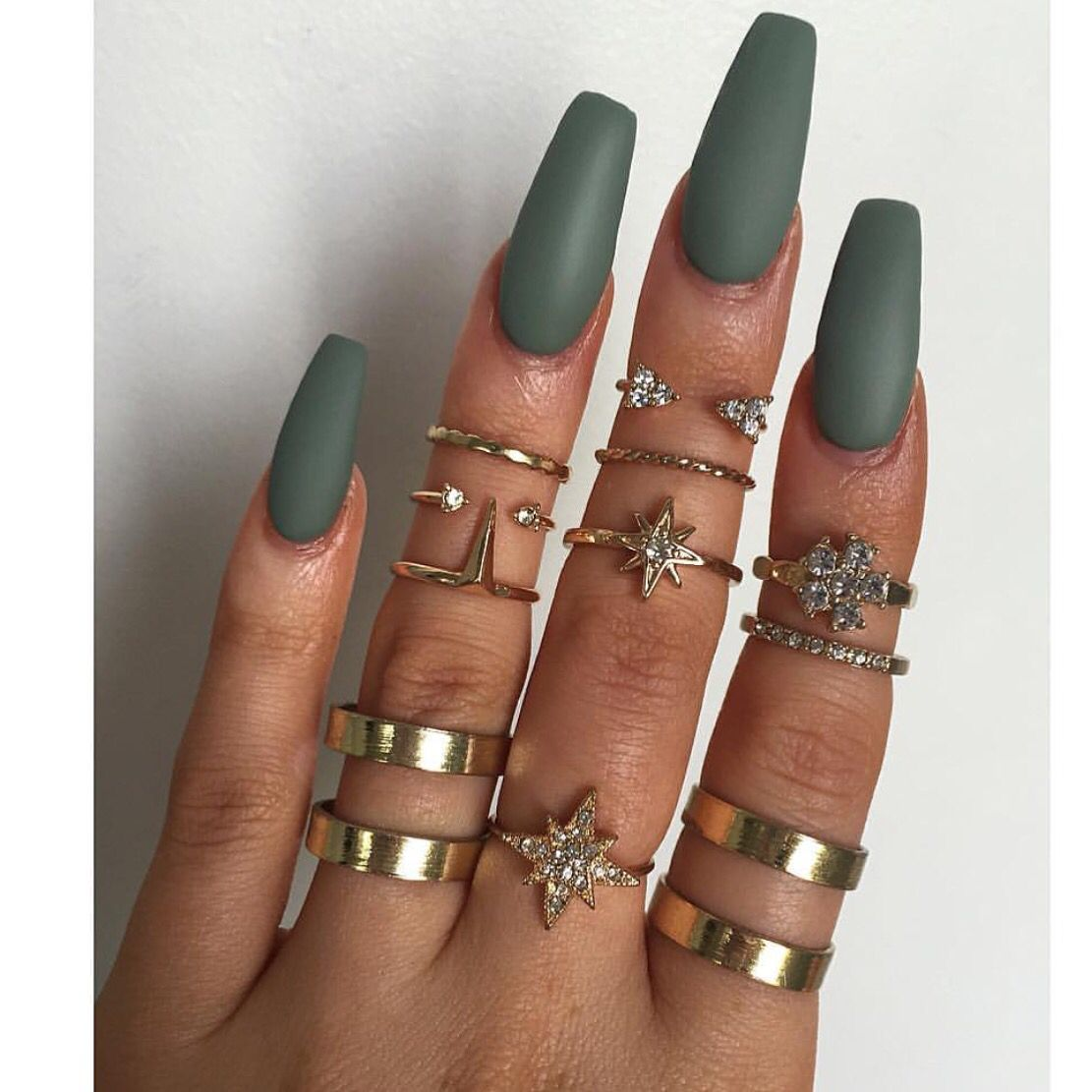 Not my length preference but I do love that color and the matte ...