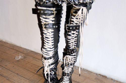 Shop - converse thigh high boots - OFF