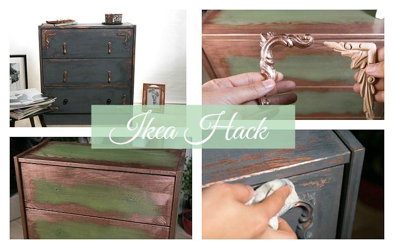 Möbel mit Kreidefarbe streichen - so geht das! * Anleitung ...