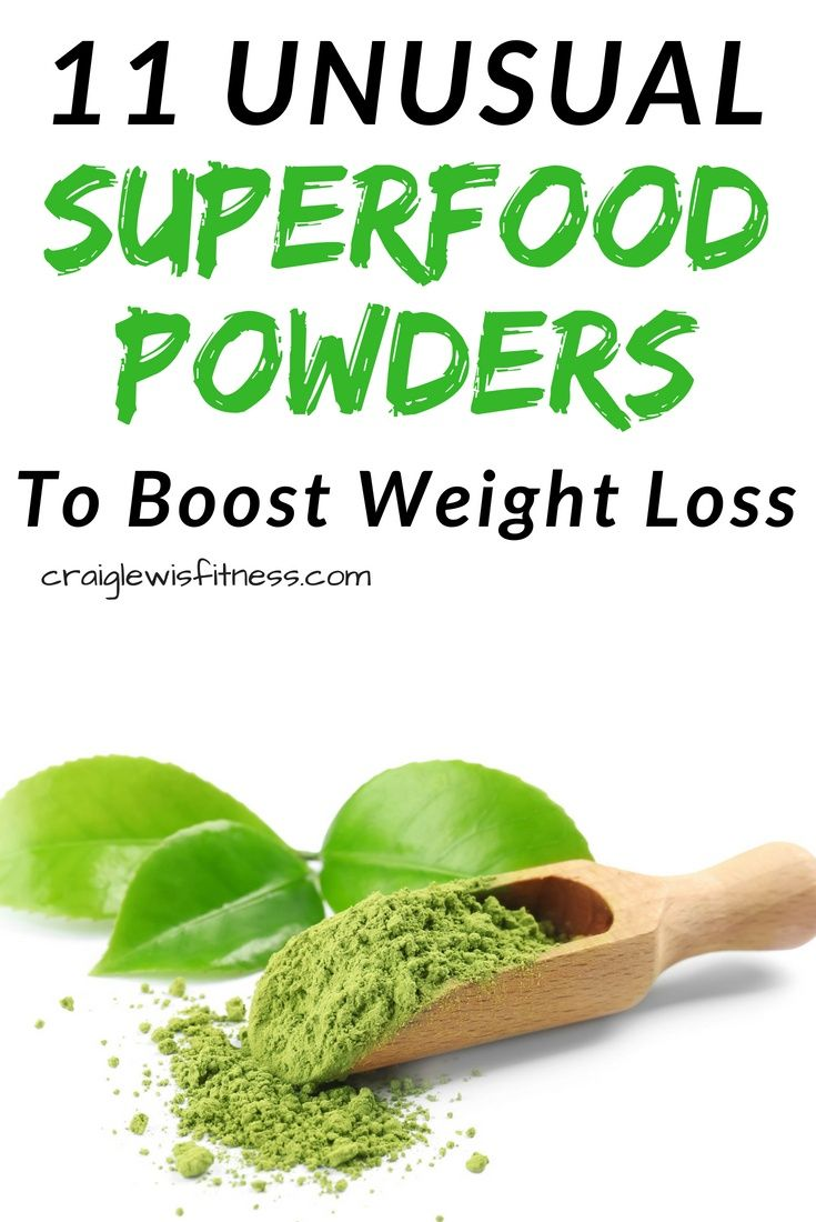 11 Superfoods for Weight Loss