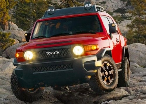 Fj Cruiser All Red With Black Trim Looks Awesome Fj Cruiser Toyota Fj Cruiser Fj Cruiser Forum