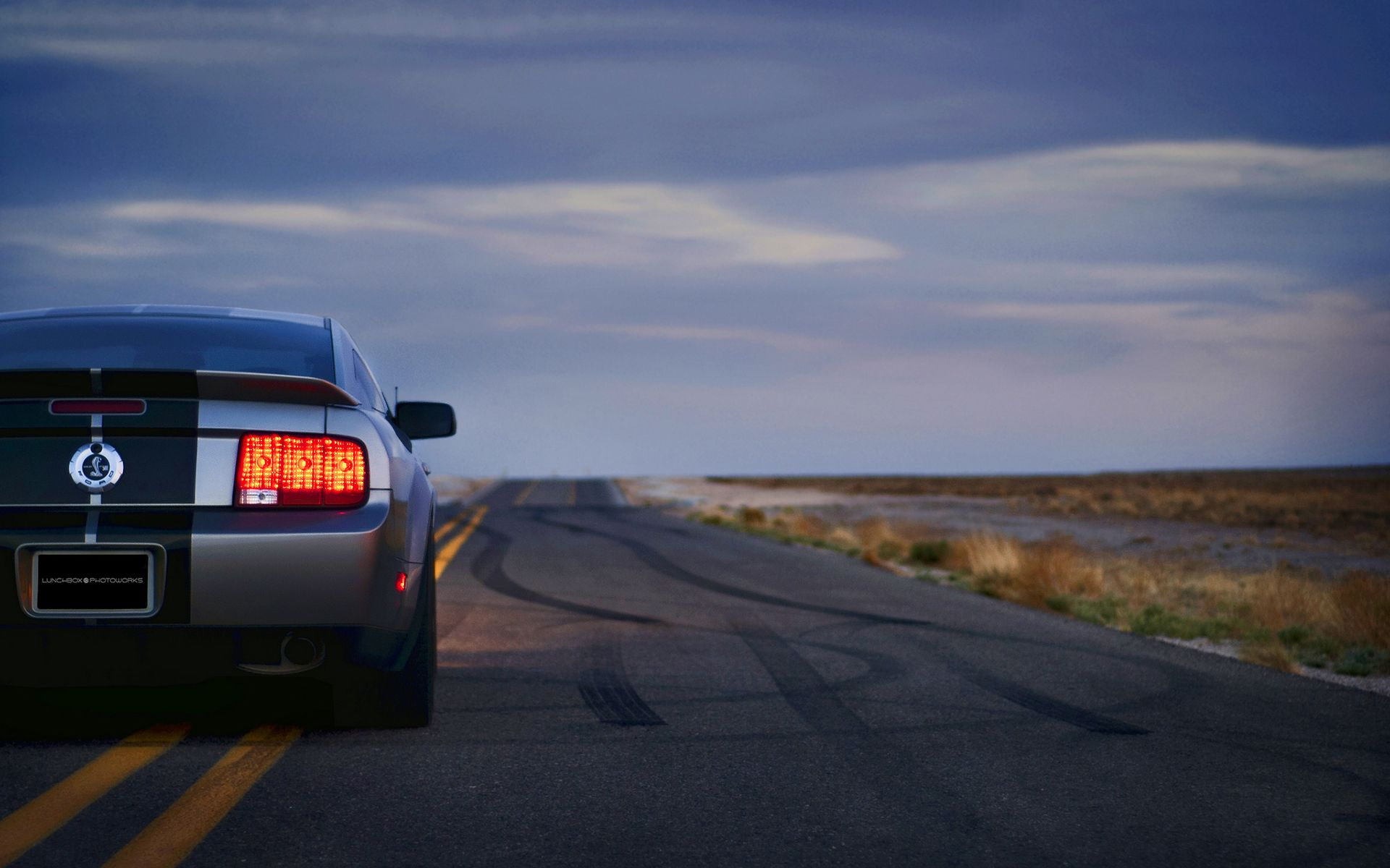 Mr Hd Wallpapers Ford Mustang Shelby Gt500 On The Road 1920x1080