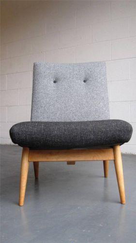 Stunning 60 S Parker Knoll Lounge Chair Teak Danish Heals G Plan Vintage Ebay