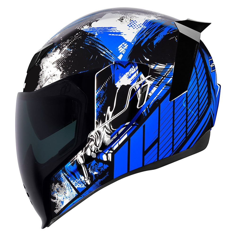 Stim Blue Helmets Icon Motosports Ride Among Us