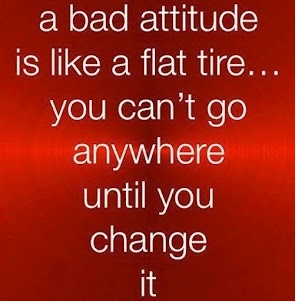 Tire Quotes Classy A Bad Attitude Is Like A Flat Tire… You Can't Go Anywhere Until