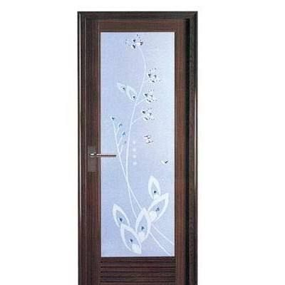 Pvc Material Frosted Glass Waterproof Toilet Door Frosted Glass Photo Wallpaper Pvc Material