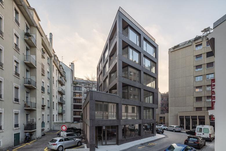 Lin robbe iler achève la construction d un b timent de logements