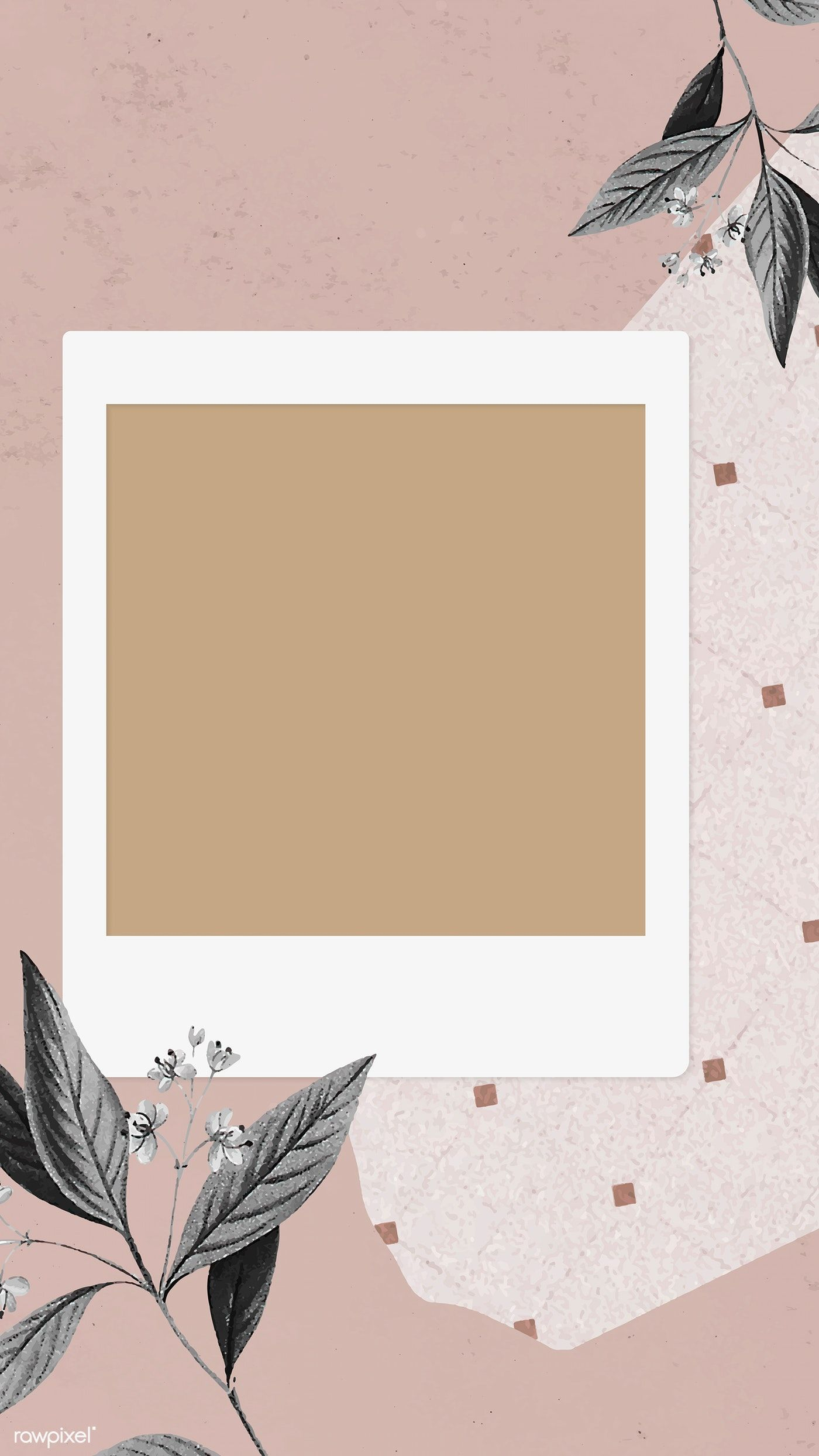 Download Premium Vector Of Blank Collage Photo Frame Template Vector Photo Collage Template Instagram Frame Template Instagram Photo Frame