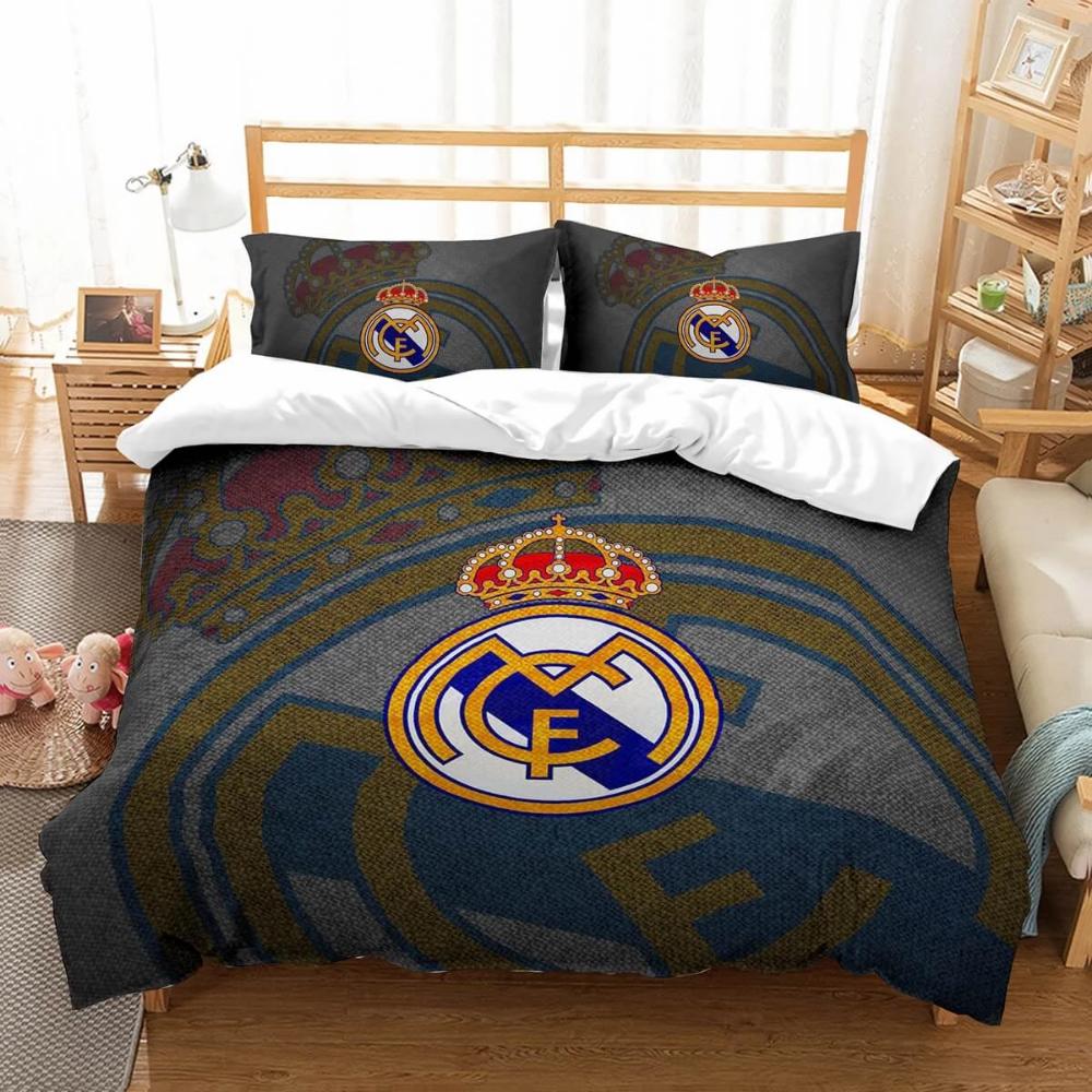 3D Customize Real Madrid C.F. Bedding Set Duvet Cover Set