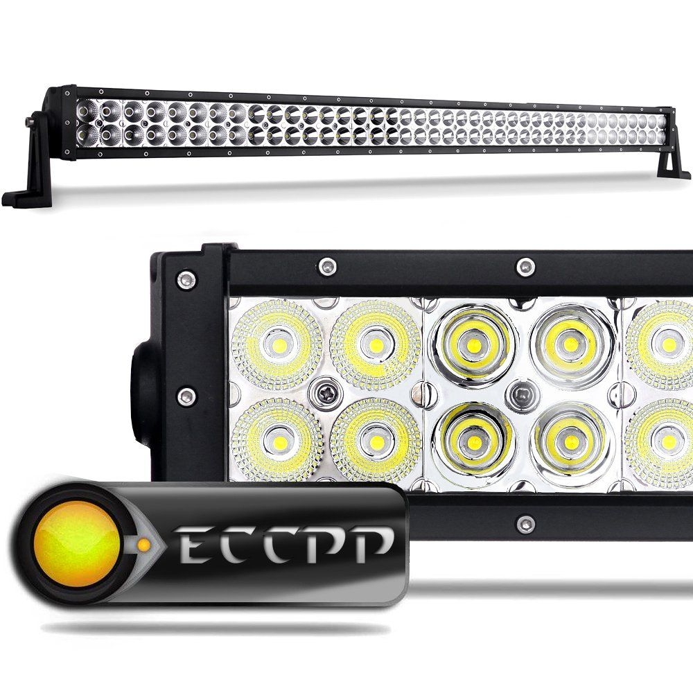 Amazon Com Eccpp 42 240w Off Road Led Work Light Bar Auxiliary Driving Lamp Flood Spot Combo Beam For 4 Best Led Light Bar Off Road Led Lights Led Work Light