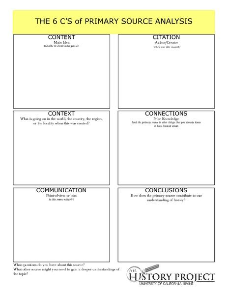 Printables Primary Source Analysis Worksheet primary sources teacher worksheets and lesson planet on pinterest