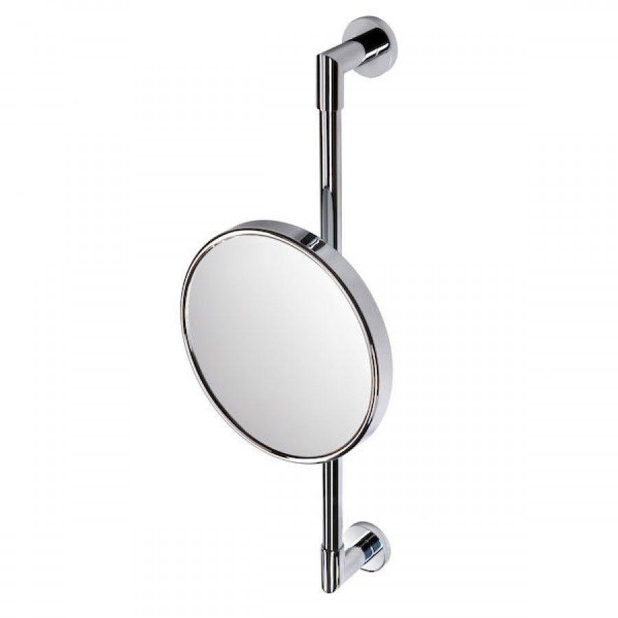 Geesa by Nameeks Wall Bar Shaving Mirror in Chrome - 1096-02 | Wall ...