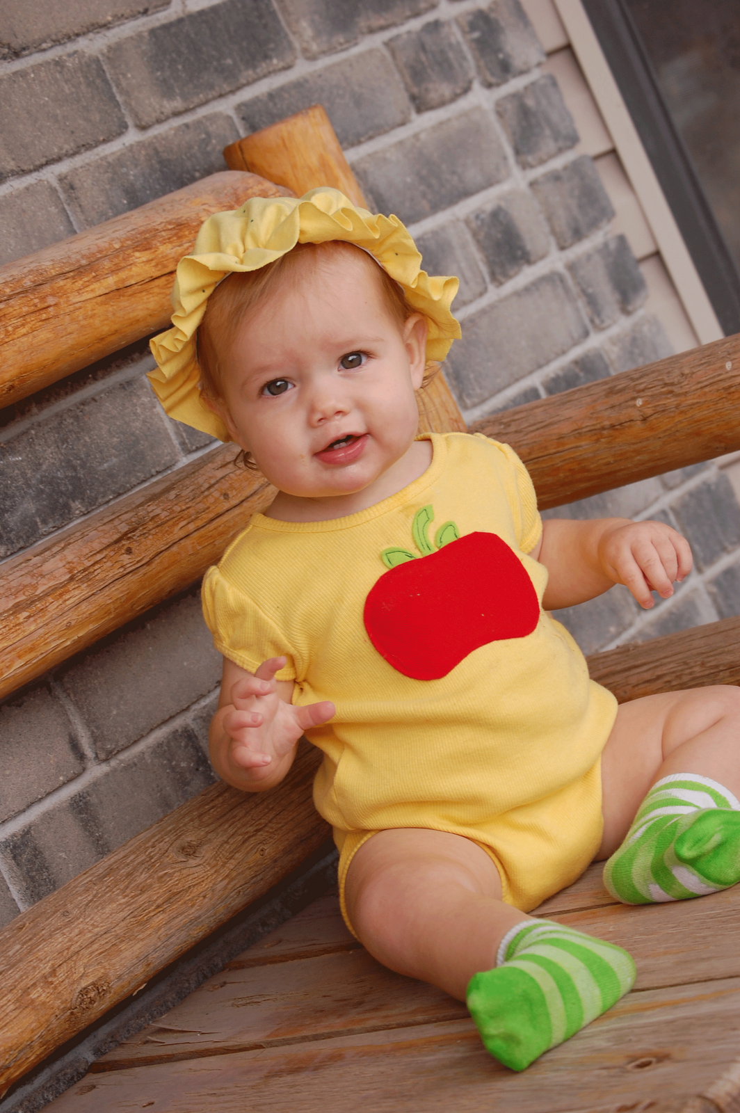 olives halloween costume strawberry shortcakes baby sister apple dumpling fyi kael - Apple Halloween Costumes