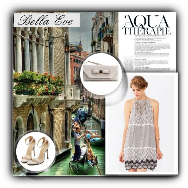 BoutiqueBellaEve by water-polo on Polyvore featuring moda, Anja and BellaEveBoutique