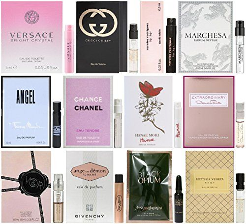 4edd48617 Lot of 12 Designer Fragrances for Women! You will receive 12 total samples  – GUARANTEED at least 11 from what is pictured!