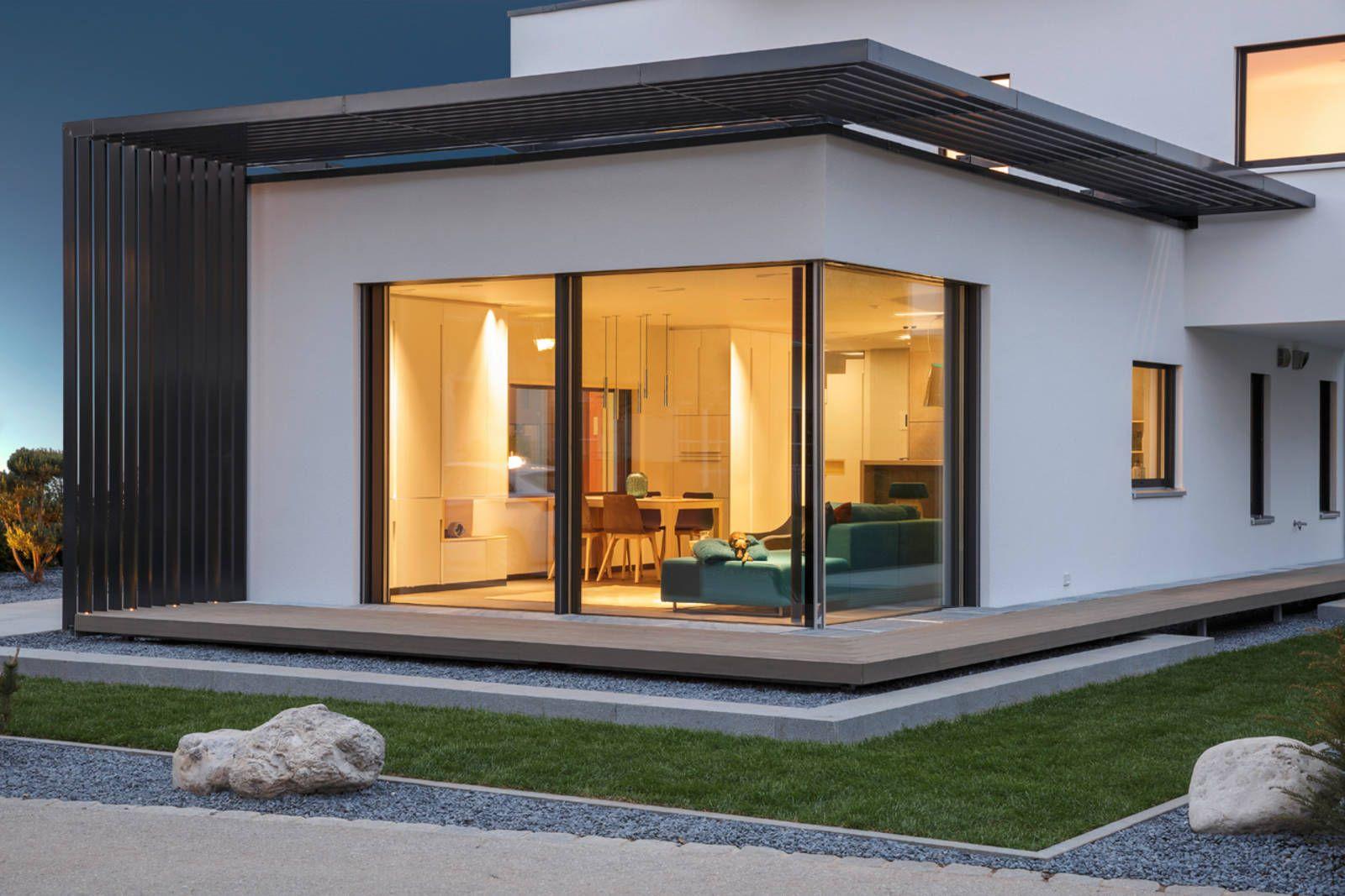 Moderne häuser satteldach  modernes haus satteldach - Google-Suche | häuser | Pinterest ...