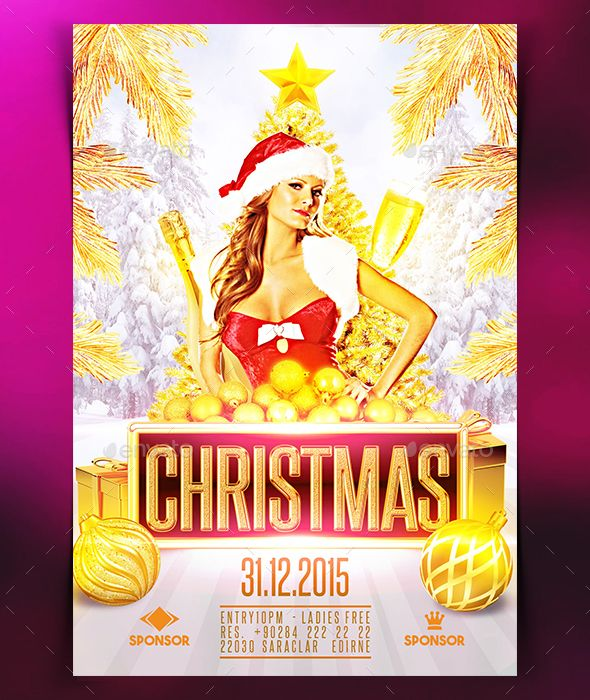 Christmas Flyer   Christmas Flyer Flyer Template And Template