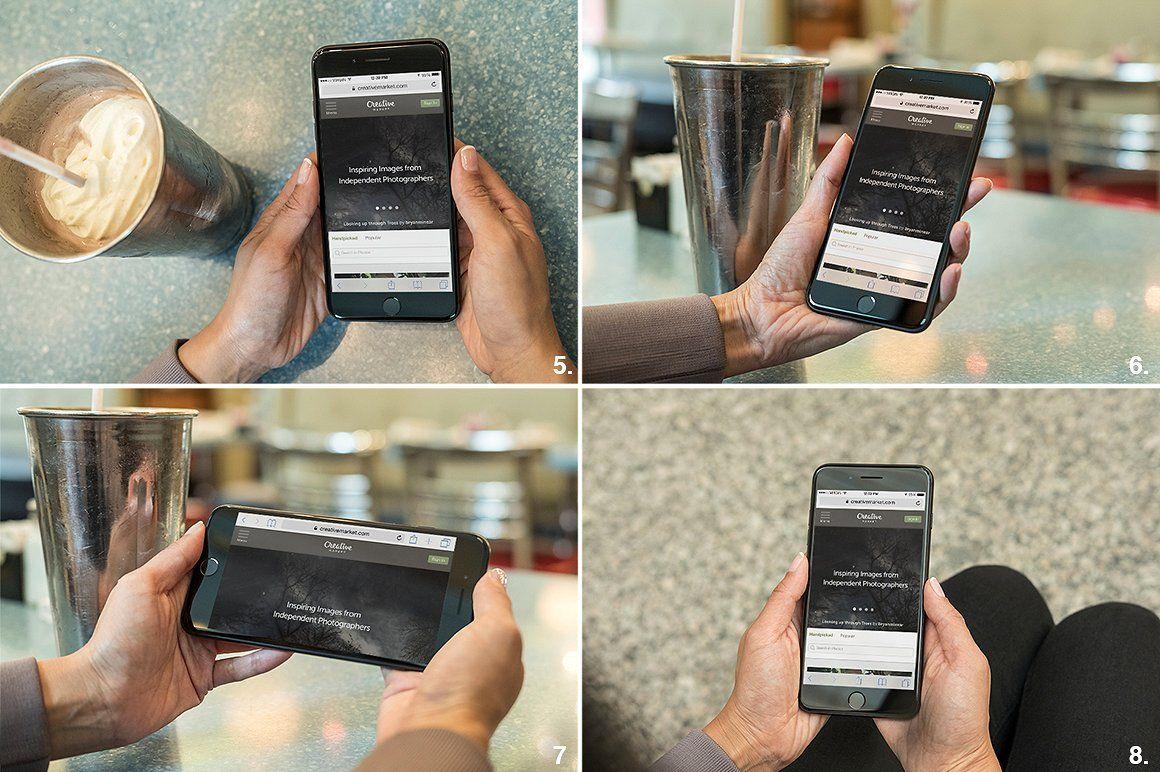 15 iphone 7 plus real photo mockups iphone 7 plus apple