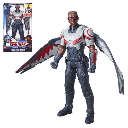 Captain America Falcon Electronic Titan Hero Action Figure