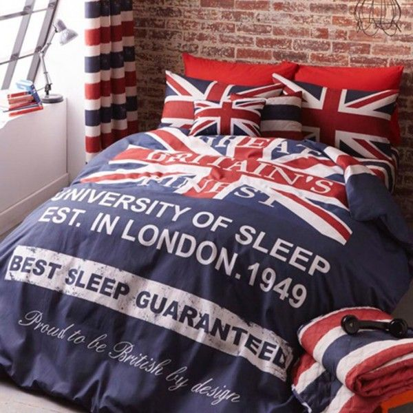 Britains Finest Reversible Duvet Cover Kool Rooms For Kool Kids London Bedroom Themes Duvet Covers Bedroom Themes