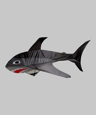 Look at this #zulilyfind! 3-D Shark Kite #zulilyfinds