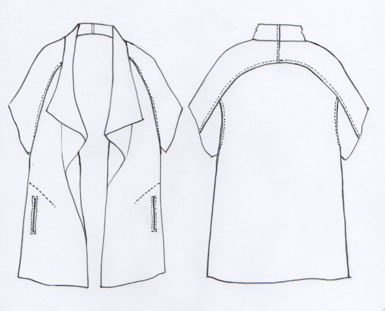 555609dc1040 Sydney Jacket Pattern - Patterns - Tessuti Fabrics - Online Fabric Store -  Cotton