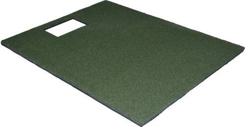 Utp4860 48 X 60 Golf Mat For The Optishot Golf Simulator By All Turf Mats 199 99 Total Thickness Is 1 3 8 Golf Mats Golf Simulators Golf Hitting Mats