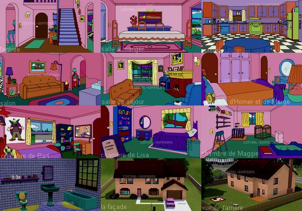 Maison Simpson Sims 4 House Design Sims House Sims House Plans