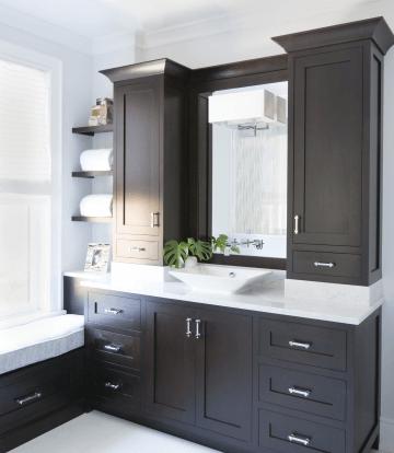 17 Mind Blowing Bathroom Cabinet Ideas Professional S Choices Demian Dashton Blog Small Bathroom Vanities Bathroom Vanity Storage Trendy Bathroom