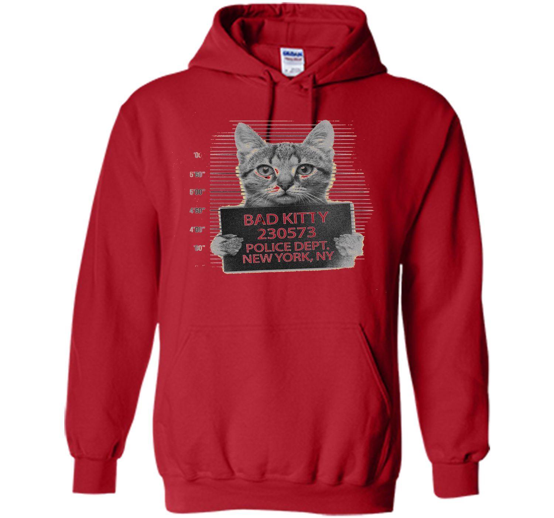 Mr Furrypants Kitty Cat Mugshot Catnip Made Me Do It T Shirt