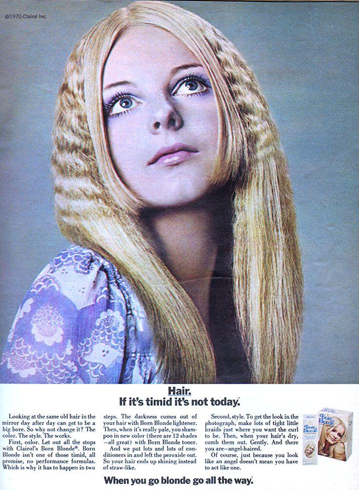 clairol born blonde - 1970