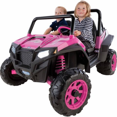 Peg Perego Polaris RZR 900, Pink, for a girl's birthday or holiday present - Tractor Supply Co.