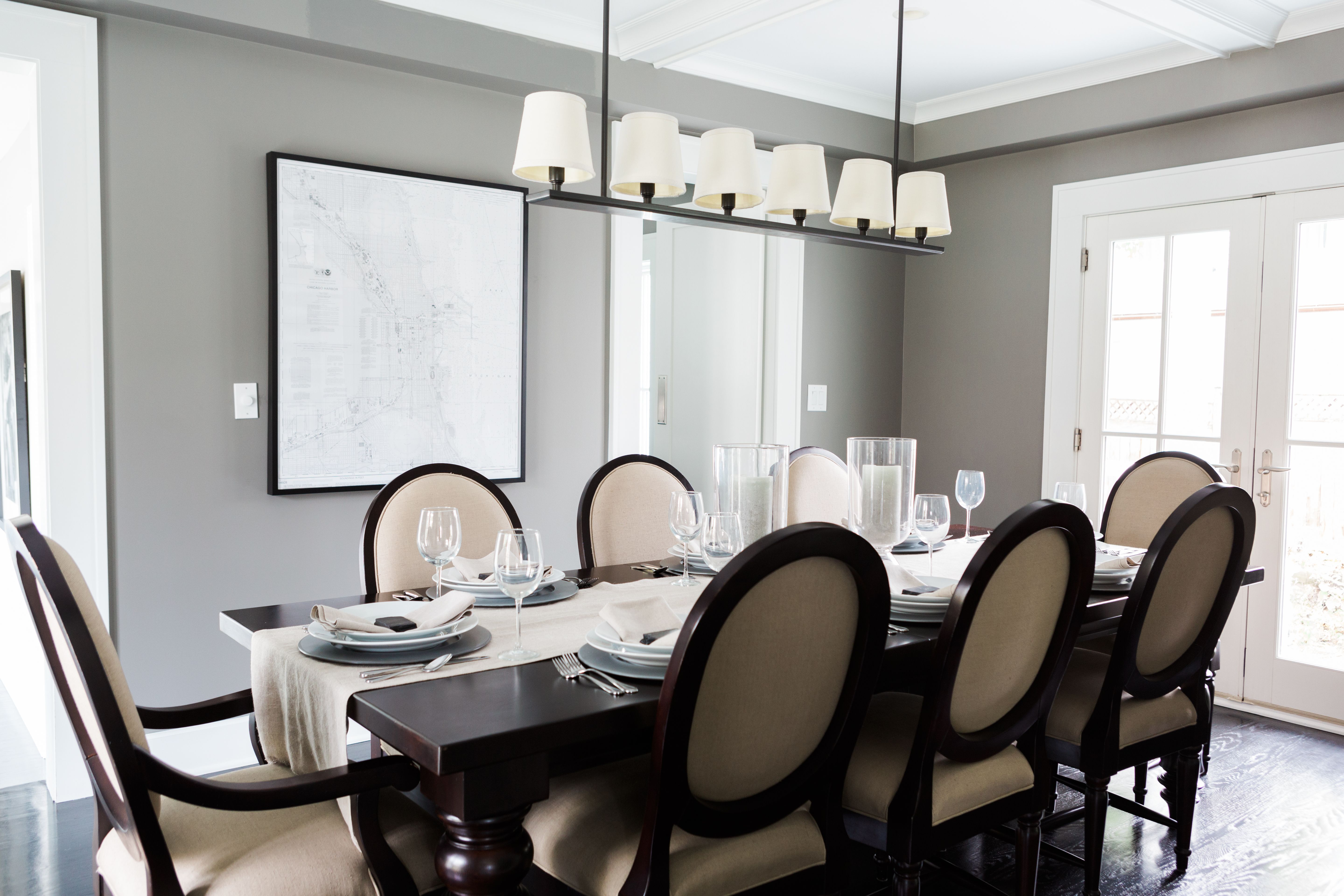 Exceptional Paint Colors That Match This Apartment Therapy Photo: SW 6258 Tricorn  Black, SW 6990 Caviar, SW 6083 Sable, SW 7669 Summit Gray, SW 7656  Rhinestone