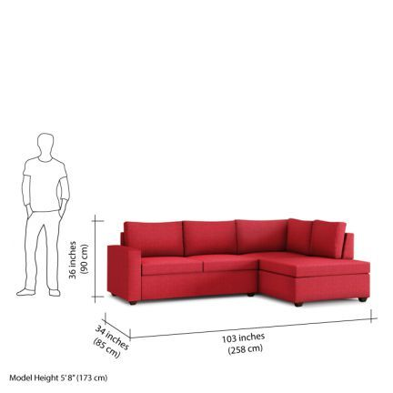 Comfort Couch Classic L Shape Sofa Red Sofas Sectionals Red Sofa L Shaped Sofa Couch