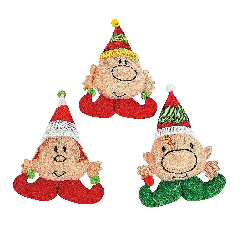 Plush Stuffed Elves Christmas