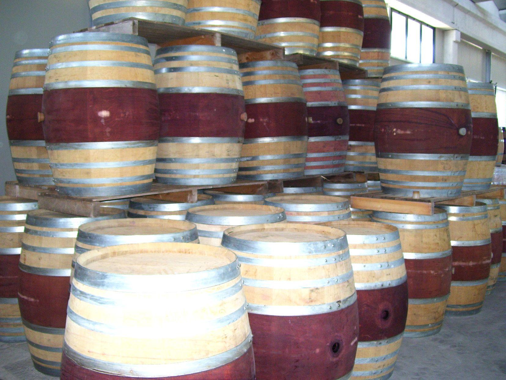 Botte Arredamento ~ 1028 barrique usate da 300 litri alte 102 cm briganti srl