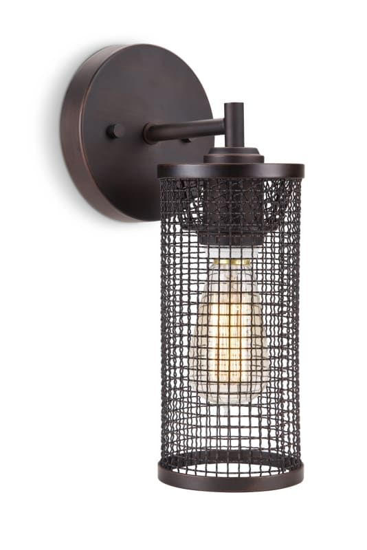 """Philips 410830 Maglia 12"""" Tall 1 Light Wall Sconce with ... on Non Wired Wall Sconces id=28272"""