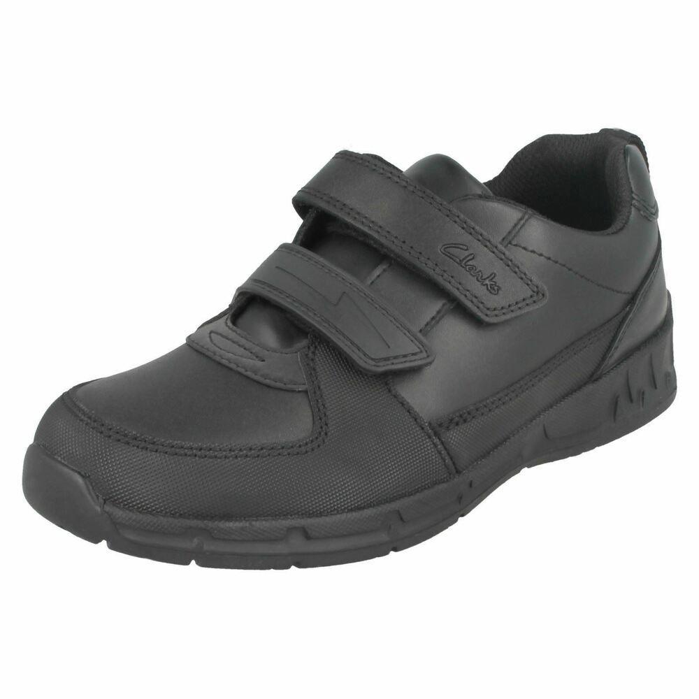 Clarks Maris Fire Black Riptape Smart shoe