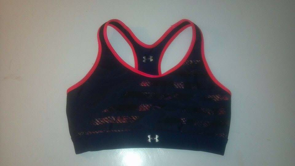 Under Armour Womens Armour Mid Reversible Sports Bra Under Armour Apparel 1293924