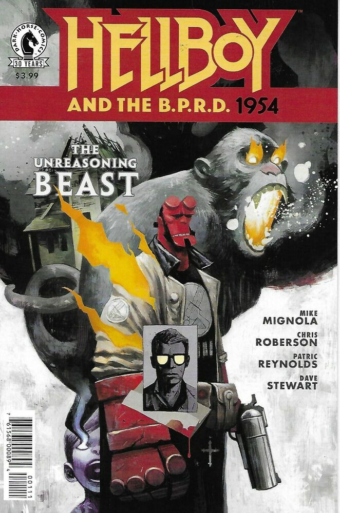 Hellboy And The Bprd Comic Issue 1 1954 The Unreasoning