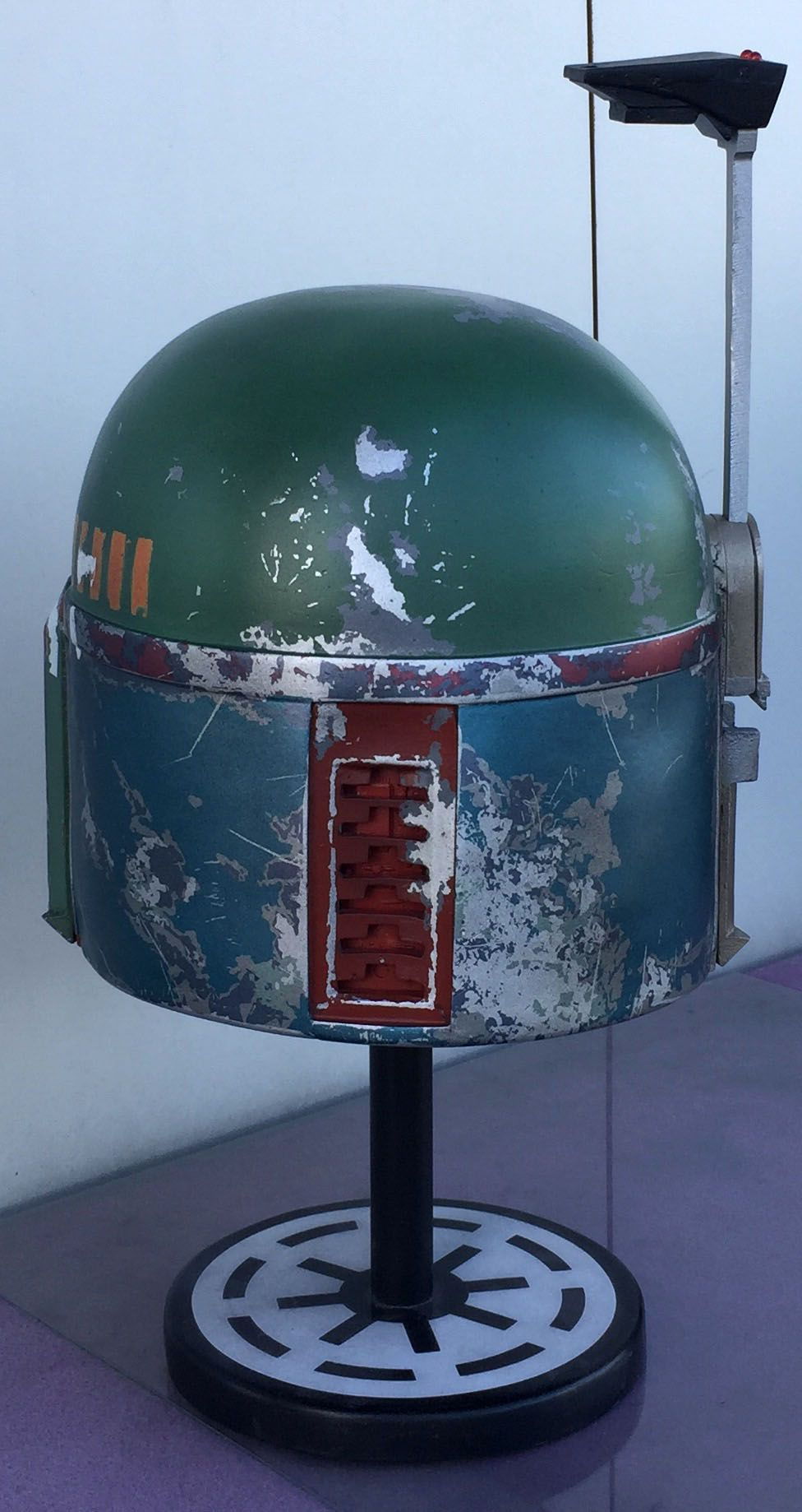 Empire Strikes Back - Boba Fett Helmet Rear View - Fan Made | Boba ...