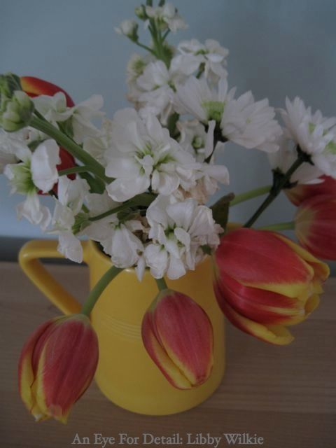 Tulips and stock