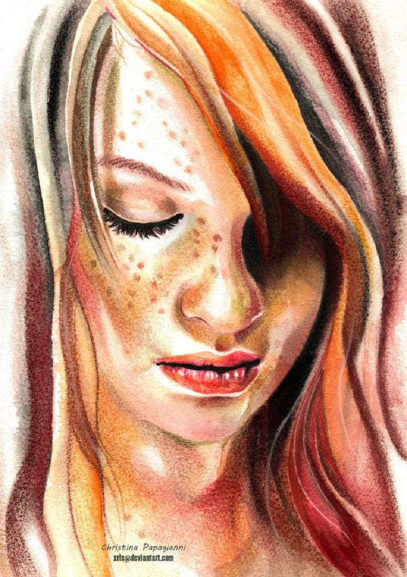 Christina Papagianni Realistic Paintings Art Hyper