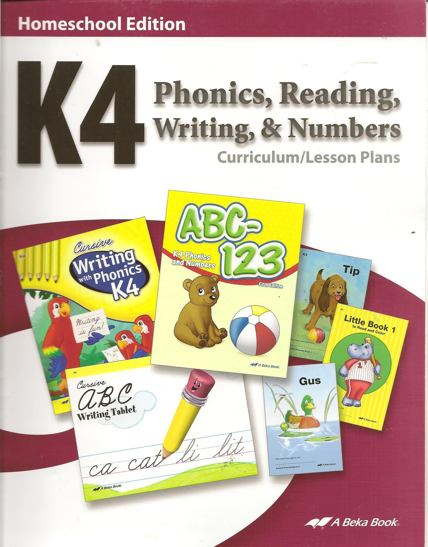 Abeka Phonics Workbook Learning How To Read