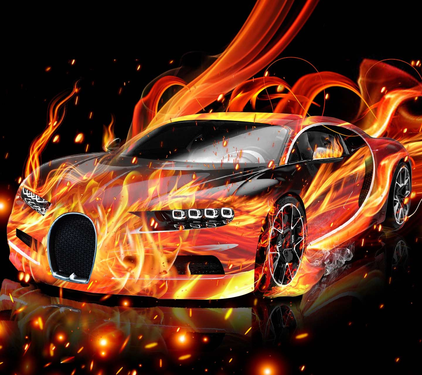 Super Car Flame Style. Fast And Furious, Luxury Lifestyle