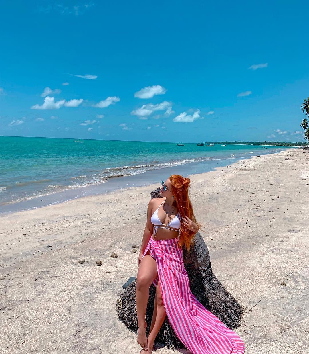 A Imagem Pode Conter Uma Ou Mais Pessoas Oceano Praia Ceu